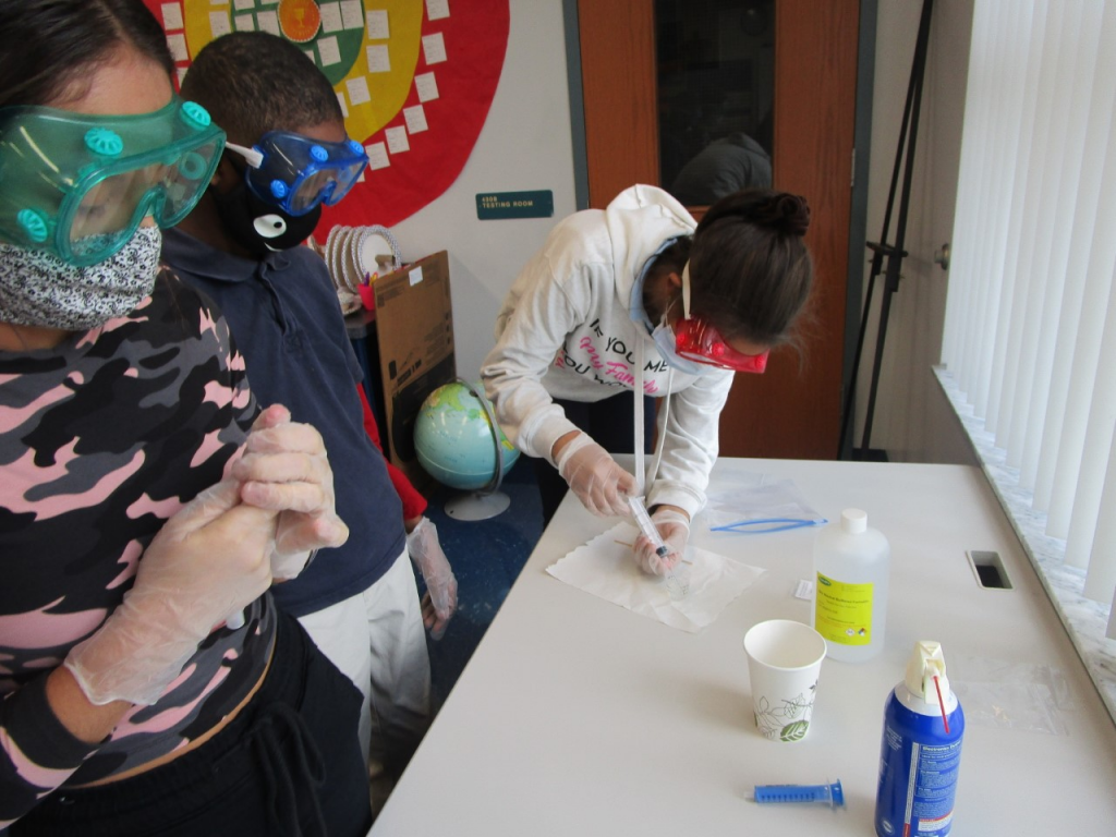 Hillsborough County Students send experiment to International Space Station