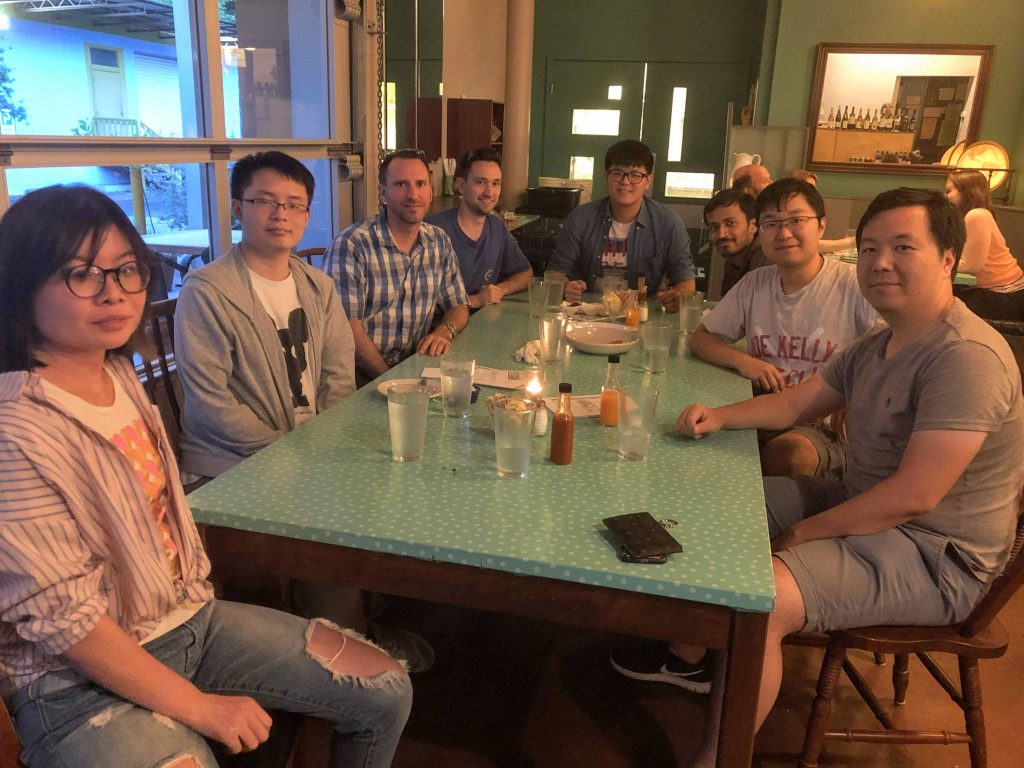 Miller and PhD Students, May 2019.