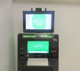 Cash for phones kiosk