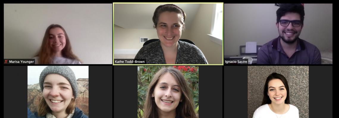 Zoom screen grab of 2020-Summer Lab