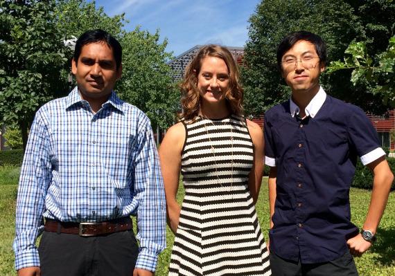 ABM Abdullah, Dr. Rice and Shanyue Guan